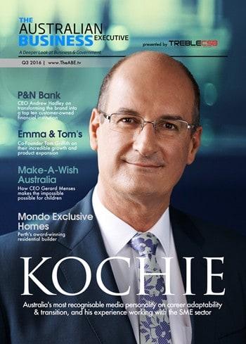 The Australian Business Executive magazine - David Kochie Koch