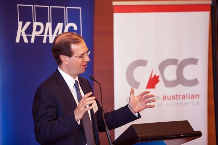 Canadian Australian Chamber of Commerce Mark Wiseman