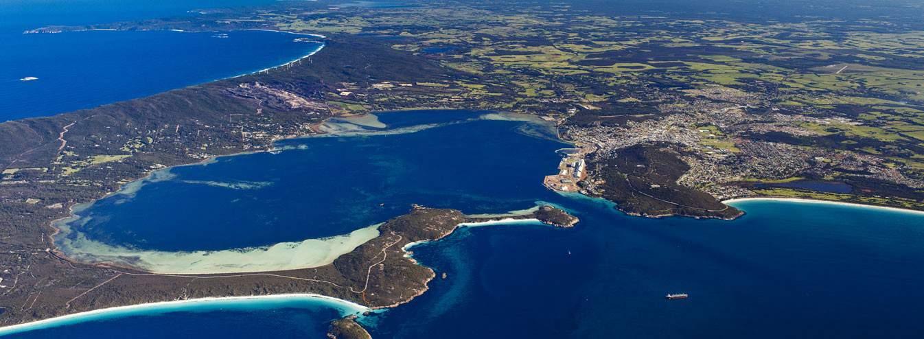 Princess Royal Harbour Aerial