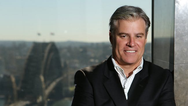 World Rugby CEO, Brett Gosper
