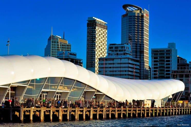 Auckland Harbour, Photo Credit: Bob McCree