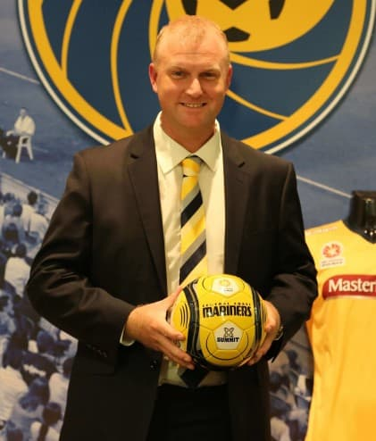 Shaun Meilekam was recently appointed as the new Central Coast Mariners CEO