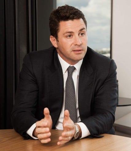 Sydney FC Chairman Scott Barlow