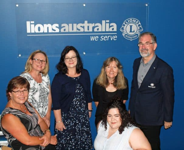 Lions Club Australia Executive Office Rob Oerlemans