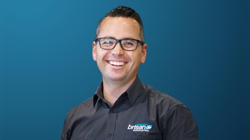 Brisan Motorcycles Managing Director Clint Davis in The Australian Business Executive