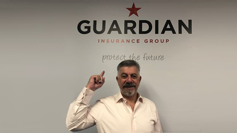 Guardian Insurance Group Owner Evan Jackson in The Australian Business Executive